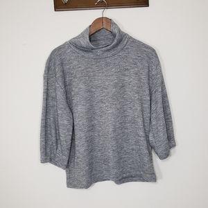 Banana Republic turtleneck longsleeve shirt gray